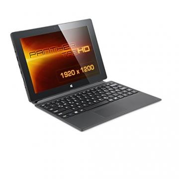 CSL Panther Tab HD 3G inkl. Windows 8.1 - 10.1 Zoll (25,6cm) Full HD Tablet, Intel QuadCore 4x 1.3GHz, 2GB RAM, 64GB SSD, Tastatur-Dock, 3G UMTS-Modul - 1