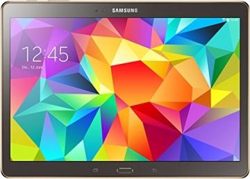 Samsung Galaxy Tab S 26,67 cm (10,5 Zoll) WiFi Tablet-PC (Quad-Core, 1,9GHz, 3GB RAM, 16GB interner Speicher, Android) titanium/bronze - 1