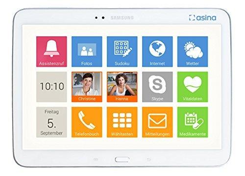 asina - tablet für senioren